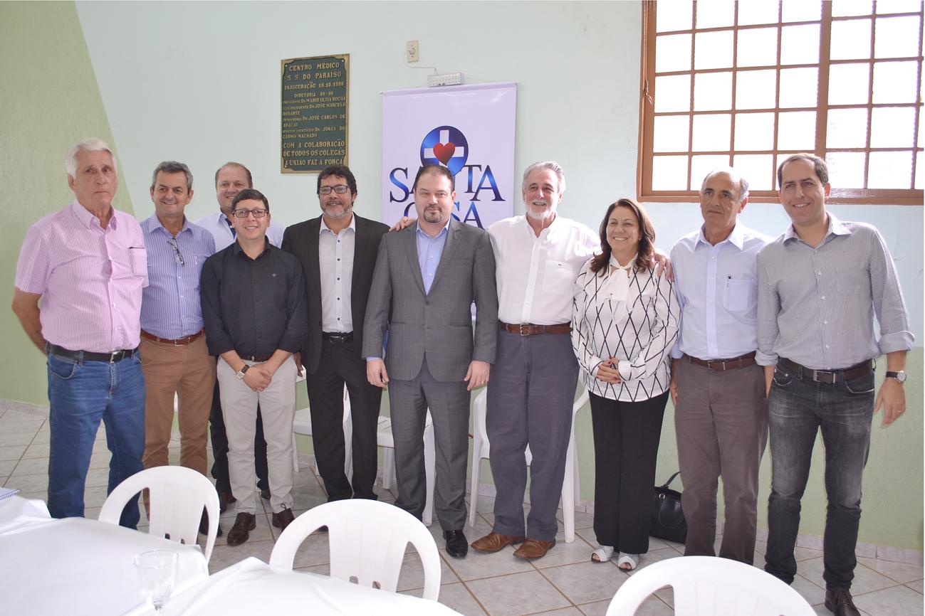 Dirigente do Governo Federal reuniu-se com comissão interventora e lideranças para ouvir as demandas locais