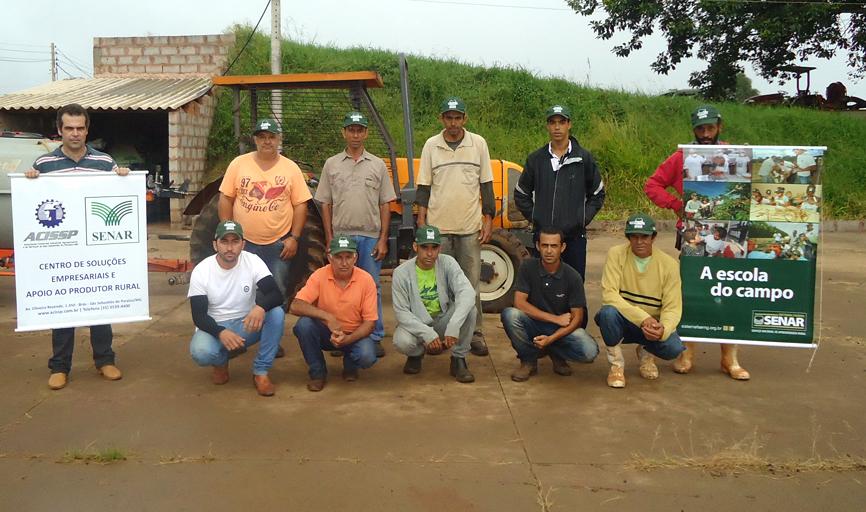 Curso de Aplicação de  Agrotoxico Manual e Tratorizado - Fazenda Boa Vista 04 a 07.04
