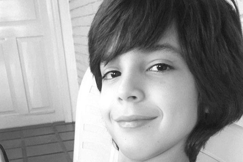 Diogo Barbosa Ferreira da Silva completa 12 anos  no  dia 3 de abril. Filho muito querido  do estimado  casal, Tiel e Patrícia, irmão de Isabella. Parabéns.