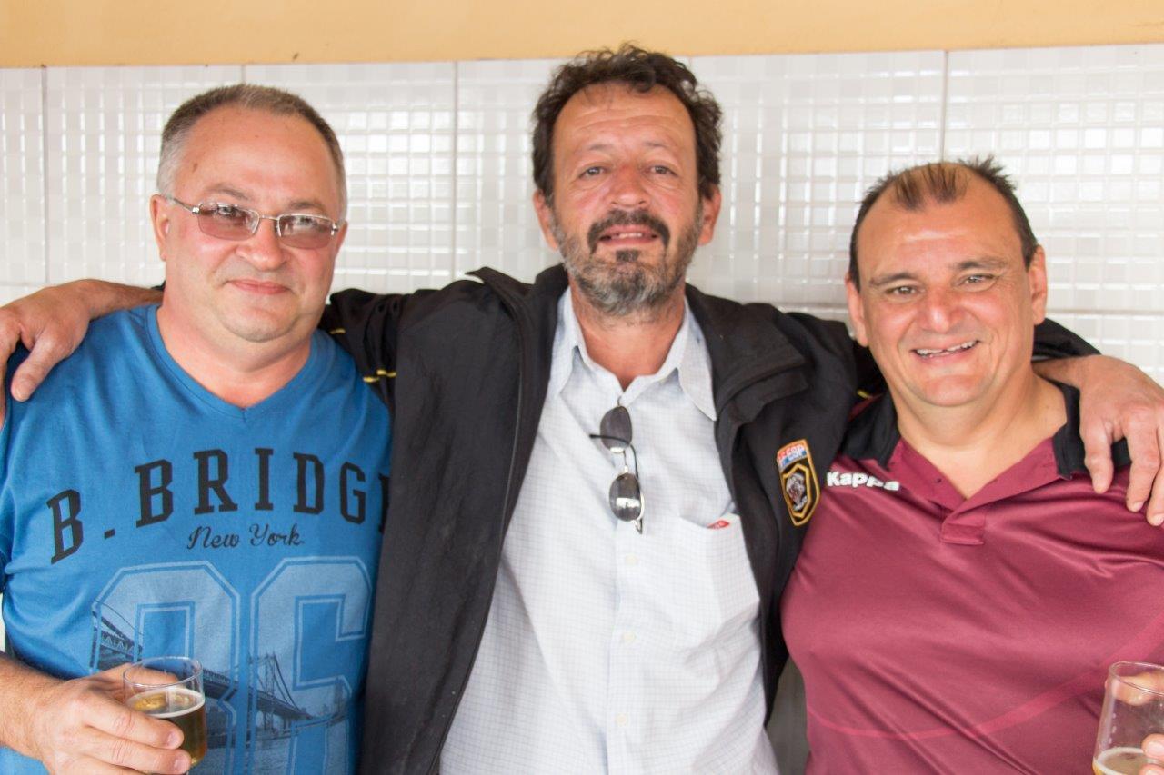 Os atiradores Dizaró, Preto e Melo