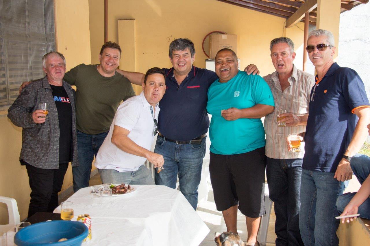 Atiradores Duarte, Pereira, Vieira, Hideo, Mata, Bícego e Batista