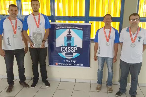 Equipe paraisense de xadrez foi vice-campeã dos Jogos do Interior de Minas (JIMI)