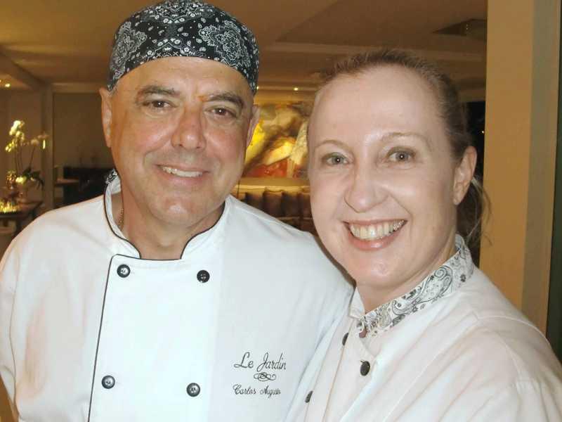 Carlos Velloso e Christine Recch
