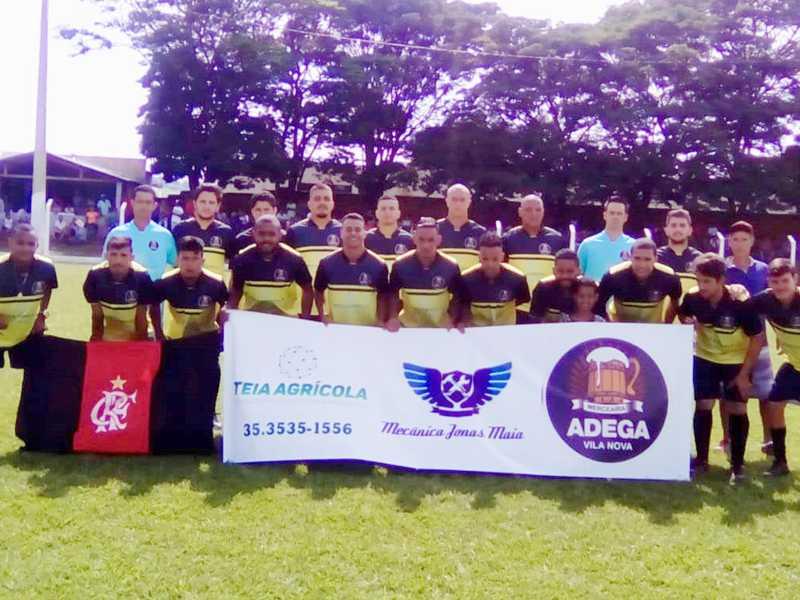 Adega Vila Nova também comemorou ter ganho o Campeonato Regional em São Tomás
