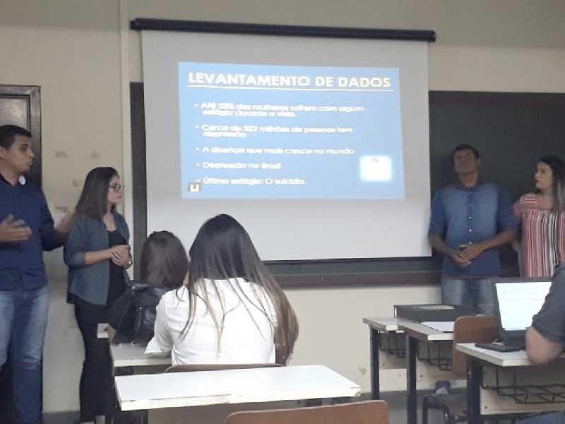 Estudantes de Jornalismo fizeram apresentação do trabalho no início desta semana