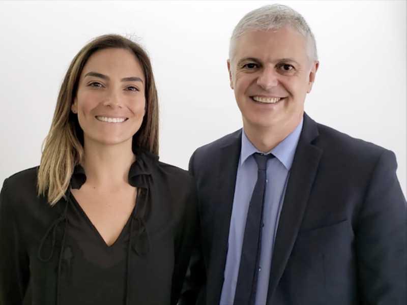 A pré-candidata a prefeitura do Rio de Janeiro, Mariana Ribas, esteve em Brasília e foi recebida pelo jornalista Fernando Rodrigues (foto)
