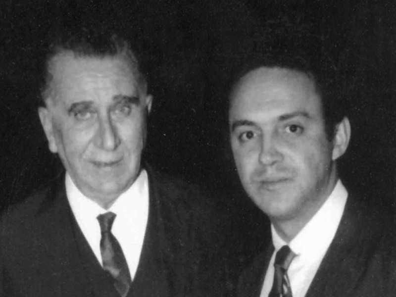 Gilberto Amaral com o presidente Médici