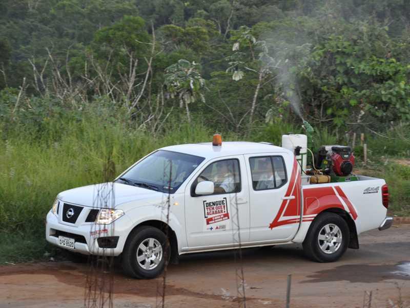 Ações de combate ao mosquito da dengue foram intensificadas em Paraíso há cerca de um mês