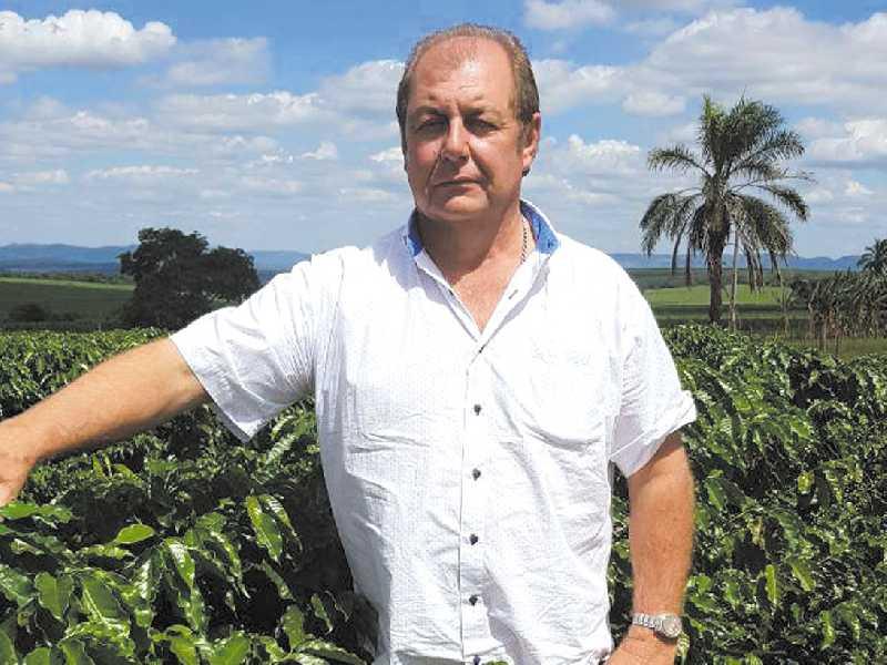 O cafeicultor João Abrão Filho