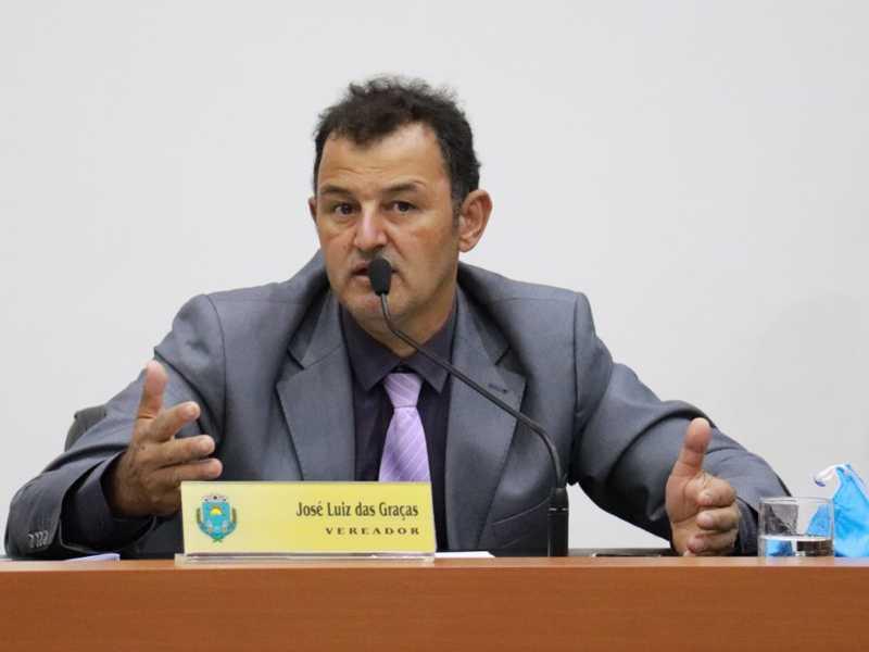 Autor do projeto, José Luiz das Graças, lamenta arquivamento da propositura