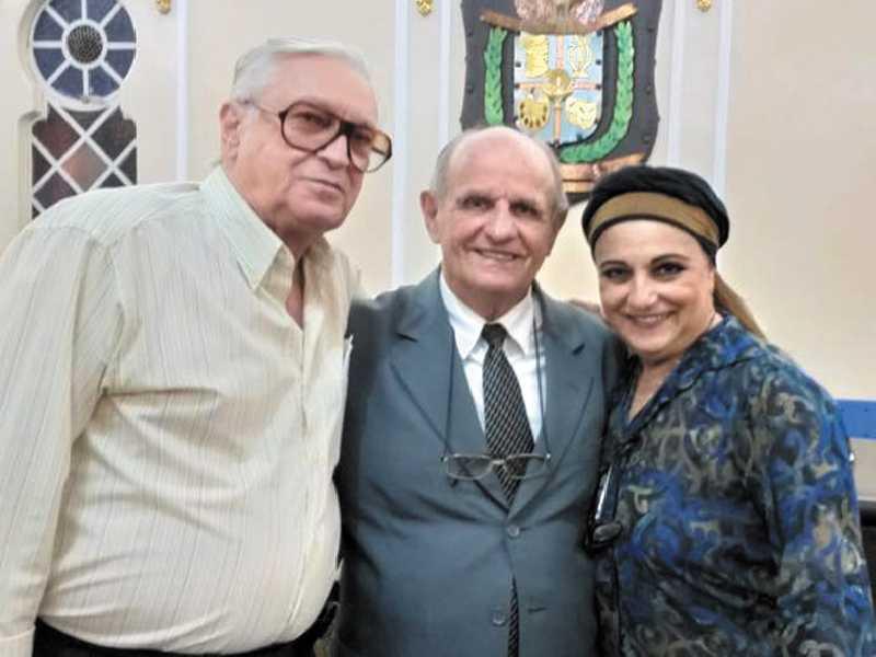 Evaristo Scarano (Lito), Pedro Dilson Costa Coutinho e Linah Biasi