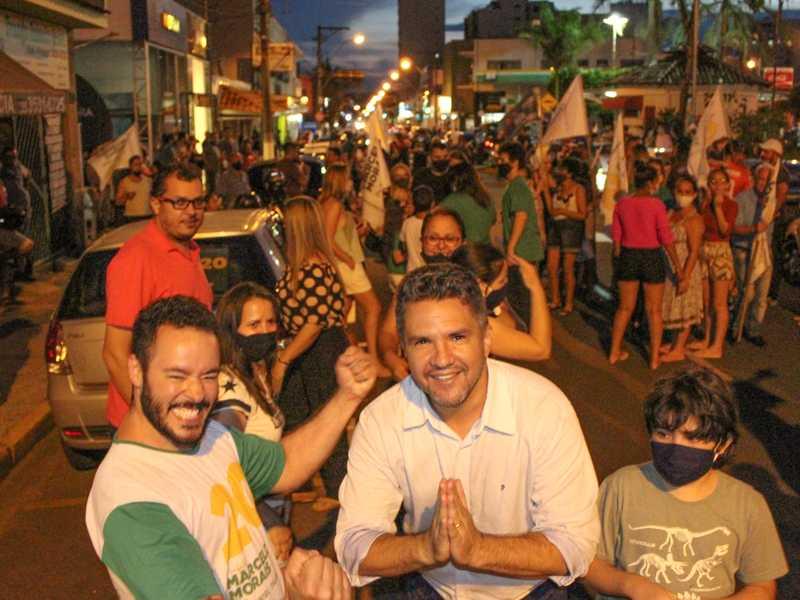 O professor Marcelo de Morais, 42, (PSC), foi eleito prefeito de São Sebastião do Paraíso com 18.179 votos
