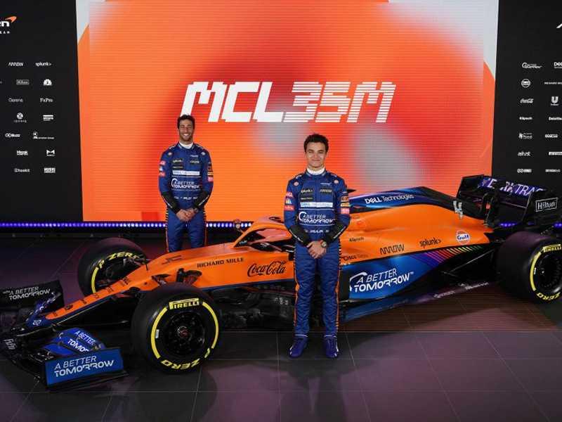 McLaren foi a primeira equipe a apresentar carro de 2021