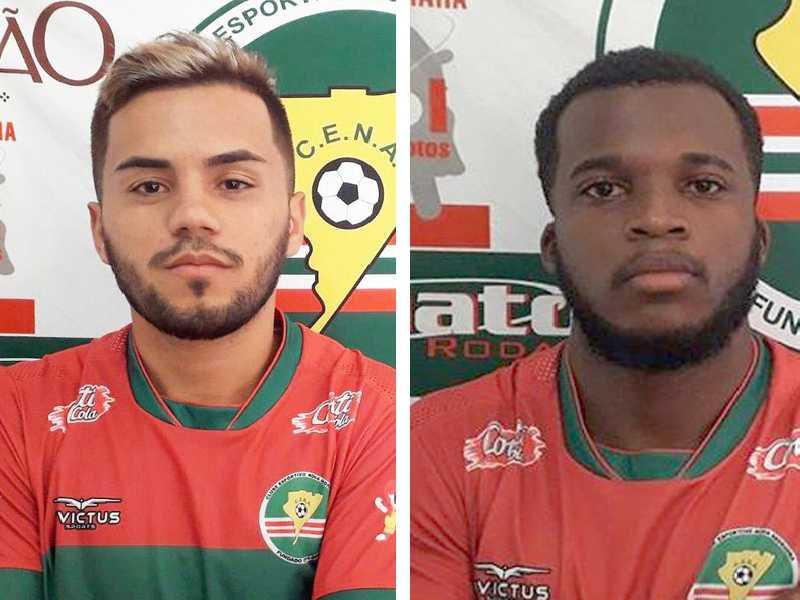 Lateral Richard Souza e o atacante Thiago Roberto acertaram com o CENA no Mato Grosso do Sul
