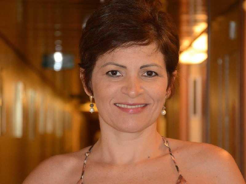 A fonoaudióloga Rosângela Canoas de Andrade comemora seu aniversário neste sábado