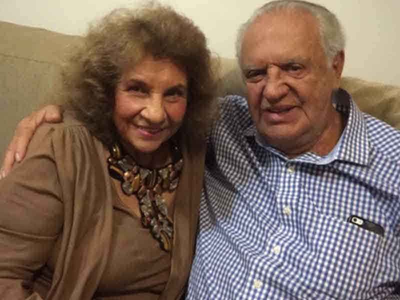 Irene Pacheco e Gilberto Amaral