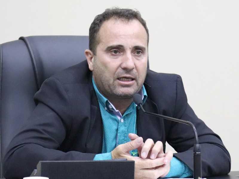 Lisandro José Monteiro presidente da Câmara Municipal de São Sebastião do Paraíso