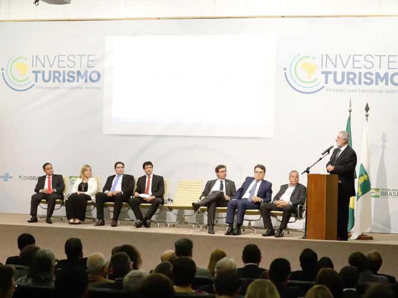 Melles afirma que o programa é um grande incentivo para o desenvolvimento turismo e aquecimento da economia