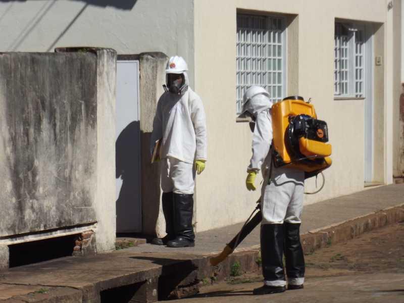 Ações de combate a dengue foram intensificadas pela cidade com trabalhos de conscientização da comunidade