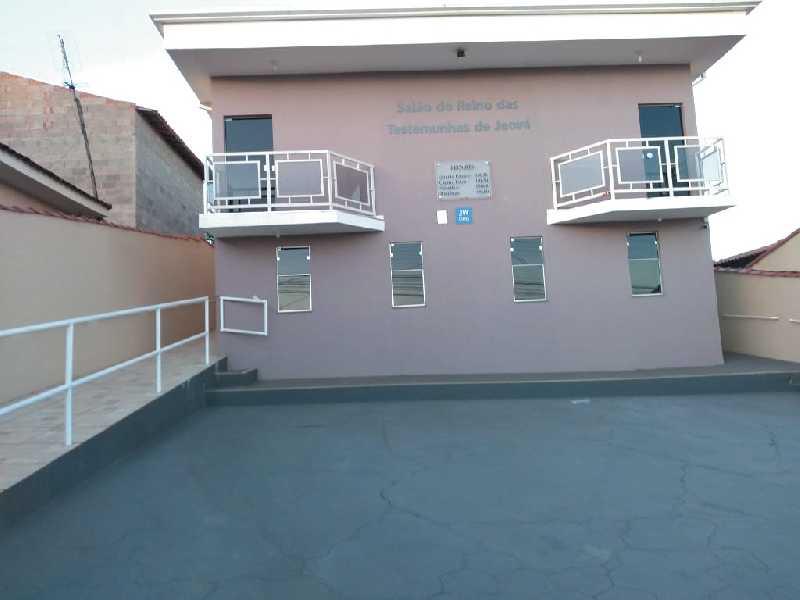 Salão do Reino das Testemunhas de Jeová, localizado na Rua Sta. Luzia, no Jardim Europa 3