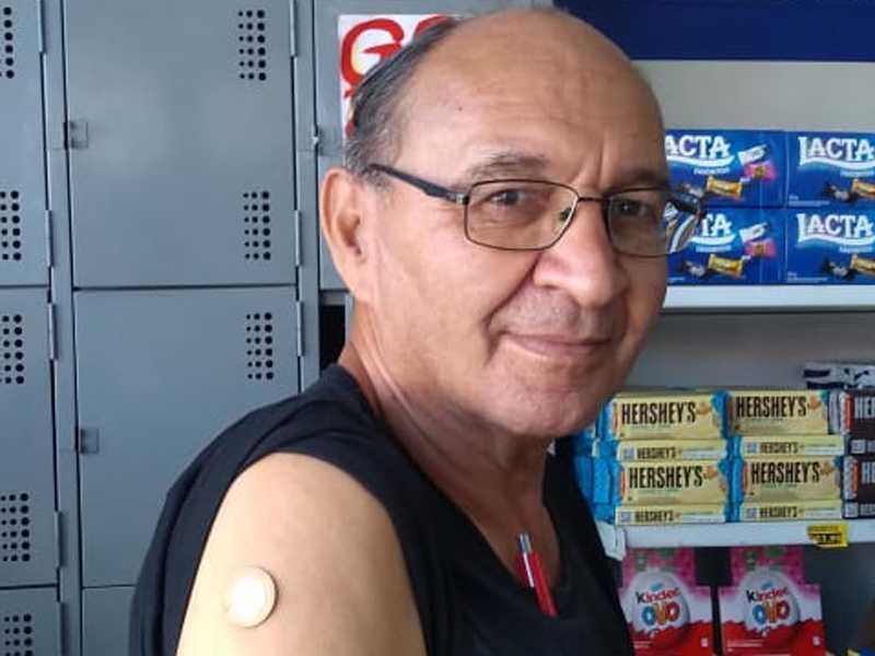 Djalma de Morais, gerente de um supermercado