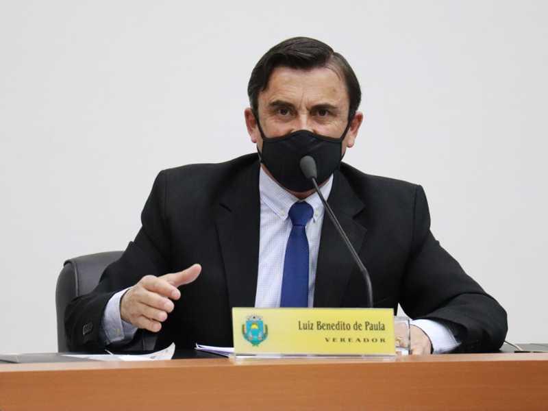 vereador Luiz Benedito de Paula,