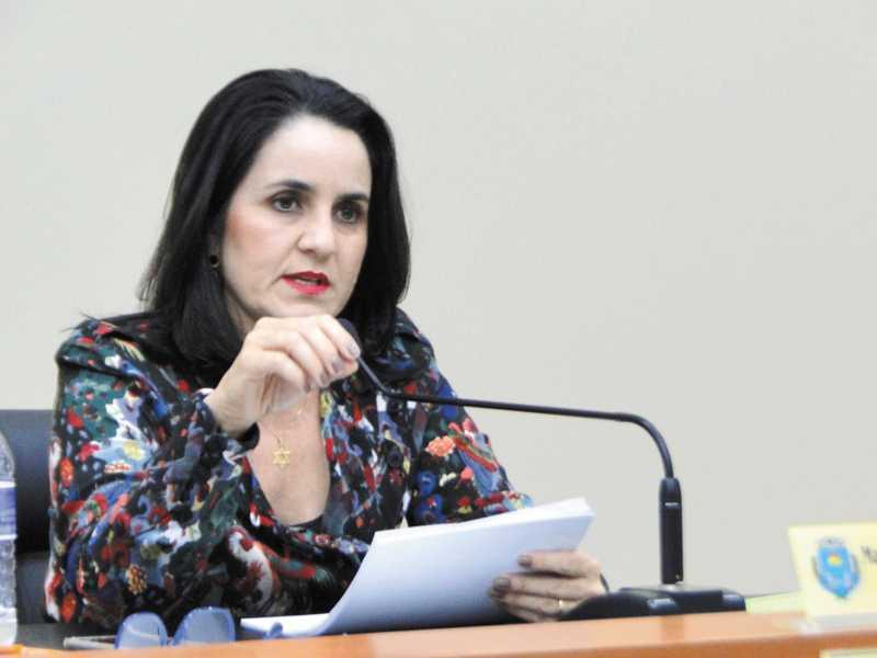 Vereadora Cidinha Cerize fez duras críticas ao transporte coletivo e cobrou qualidade do serviço