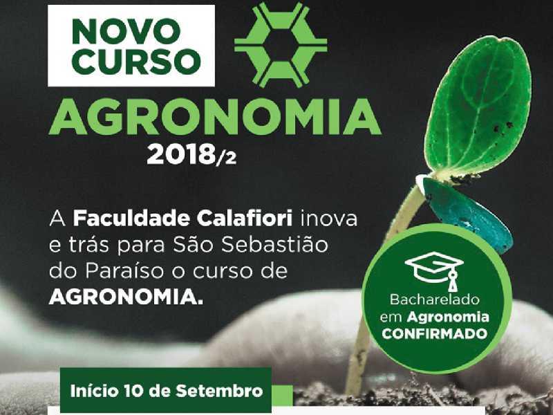 Está oficialmente autorizada pelo Ministério da Educação a oferecer o curso de bacharel em Agronomia