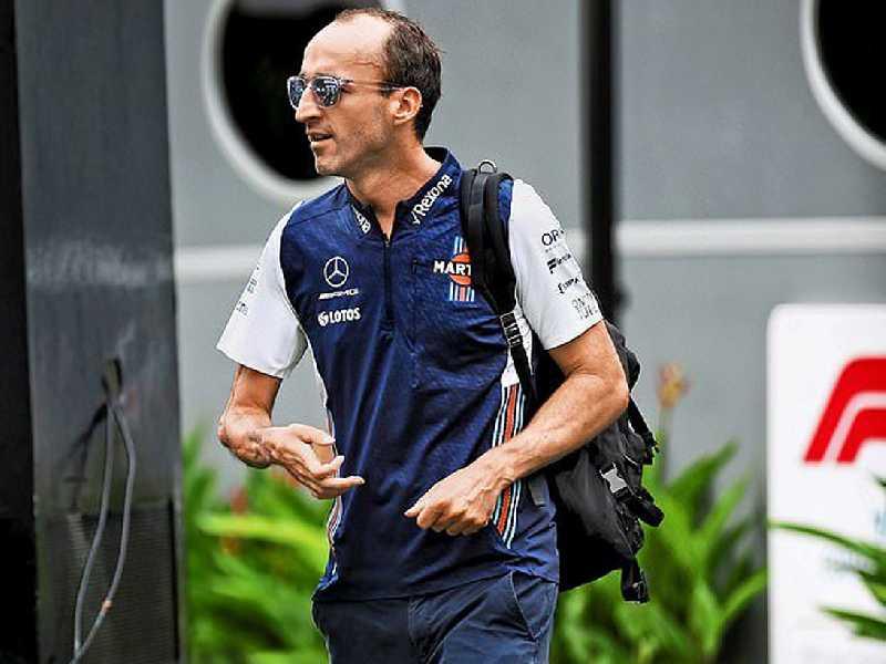 Polonês Robert Kubica que vai deixar a F1 ao final desta temporada