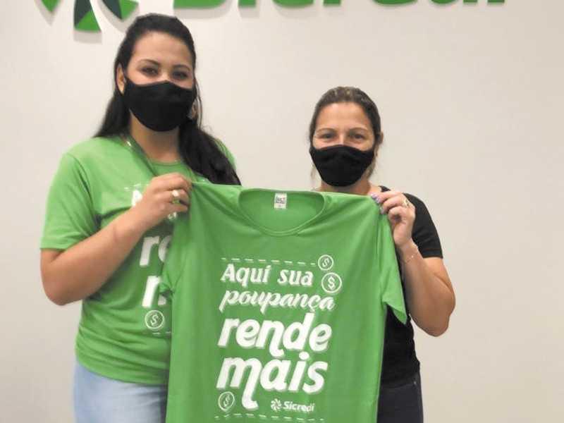 Assistente de Negócios, Bruna Souza da Silva Pimenta e a associada Siderlei Aparecida dos Santos
