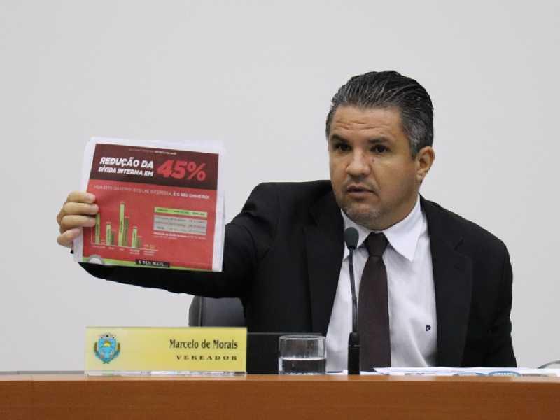 Marcelo diz que valor divulgado pela prefeitura em informativo não condiz com o que foi apresentado à Câmara