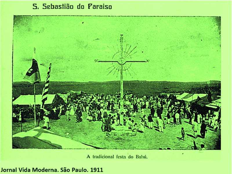 A Tradicional festa do Bahú - Jornal Vida Moderna. São Paulo. 1911
