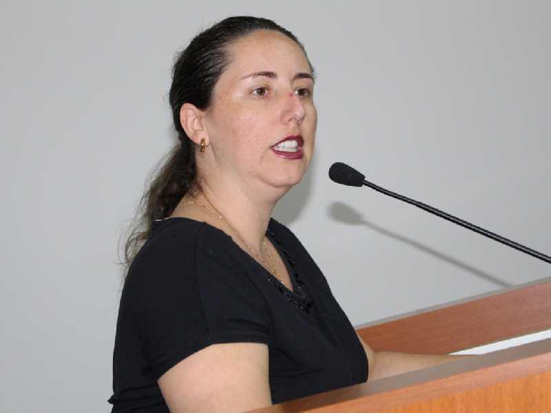 Secretária de Planejamento e Gestão, Adriana Rogeri
