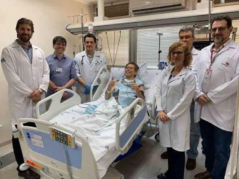 O paciente voltou a engordar e teve alta: análise do tipo de remissão, se foi completa ou parcial, sairá em três meses