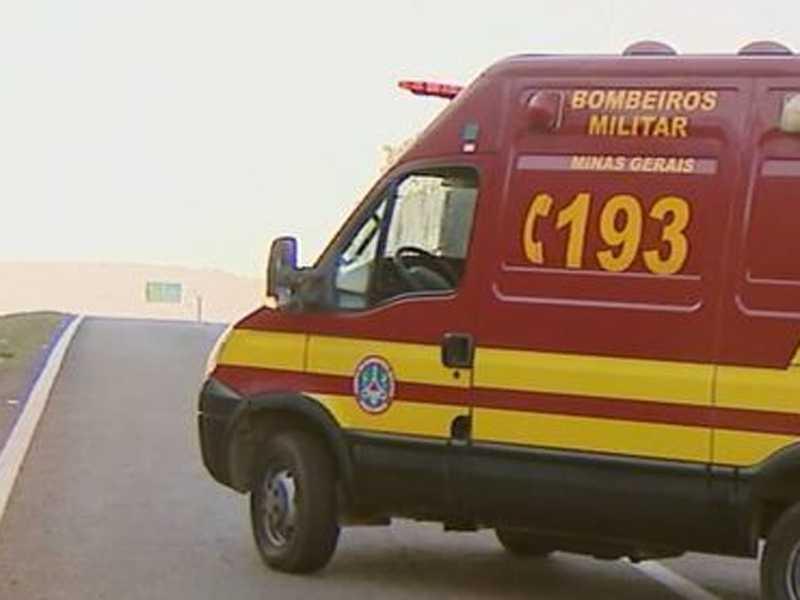 Vítima foi imobilizada e encaminhada para o setor de Urgência e Emergência da Santa Casa