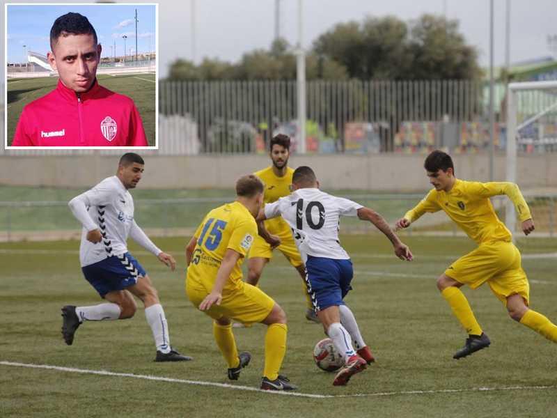 Camisa 10 do Torrivieja da Espanha, paraisense Thales torce para que a bola volte a rolar novamente