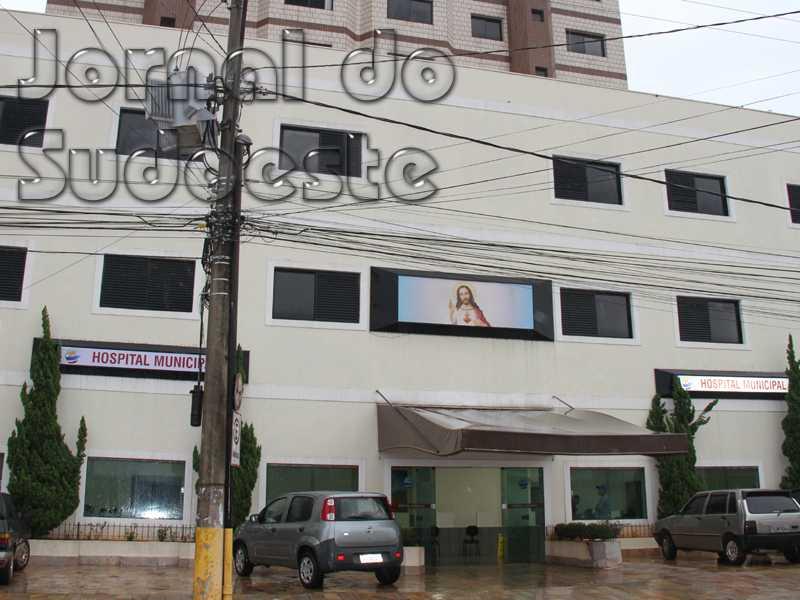 Criação do Hospital Municipal, em 13 de março de 2015