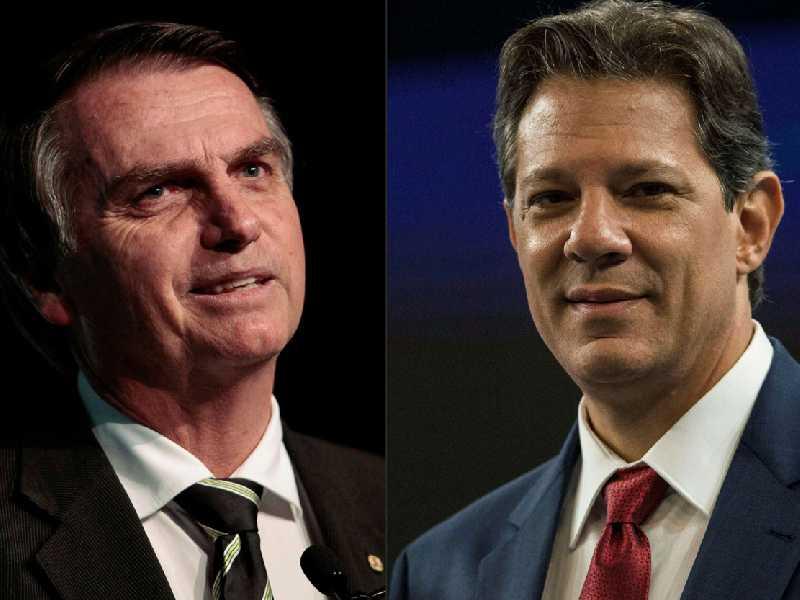 Bolsonaro e Haddad
