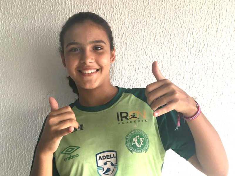Amanda Santana foi aprovada na equipe feminina de Santa Catarina no início do ano e está cheia de expectativas para atuar
