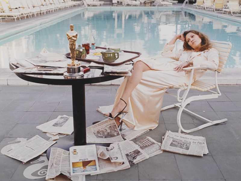Faye dunaway beverly hills hotel Terry O'Neill
