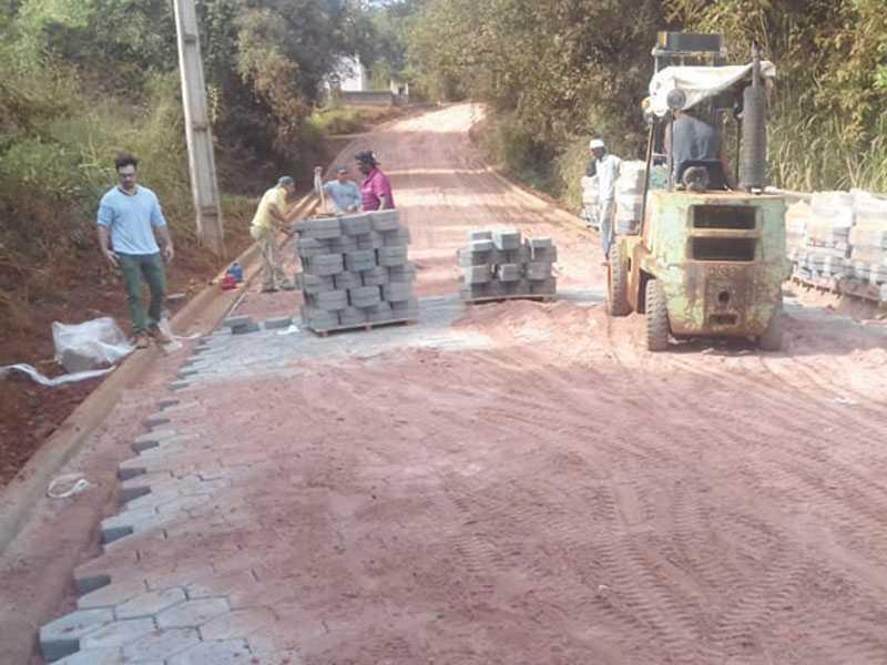 O objetivo é concluir os trabalhos o mais breve, antes do início do período de chuvas - Bairro Pinheirinho