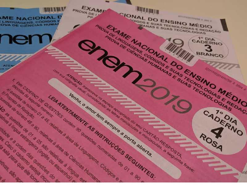 Microdados do Enem 2019 é divulgado quase seis meses após a avaliação dos alunos