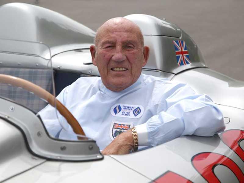 Stirling Moss sempre foi correto e cavalheiro, dentro e fora das pistas