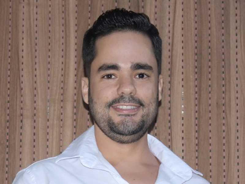 O empresário Maxwell Alves, da papelaria Lutel