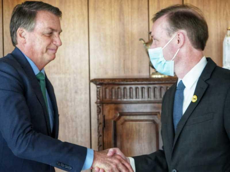 Bolsonaro e o CSN dos EUA, Jake Sullivan