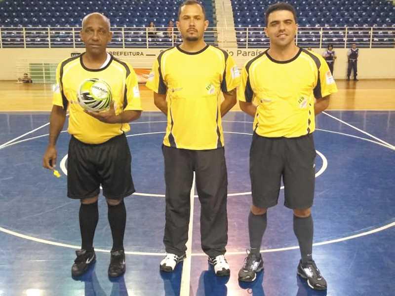 Árbitros - Nilson José Rodrigues - Danilo dos Reis Terencio - Danilo Gonçalves da Silva