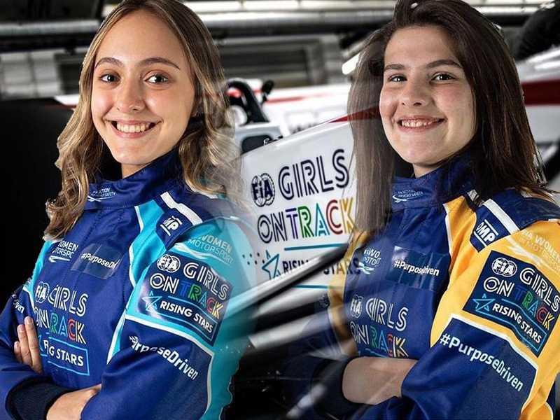 Julia Ayoub e Antonella Bassani são finalistas do programa que visa levar uma mulher para a F1 no futuro