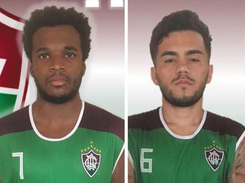Atletas Thiago e Richard foram contratados para reforçar equipe do Atlético no brasileirão de 2019