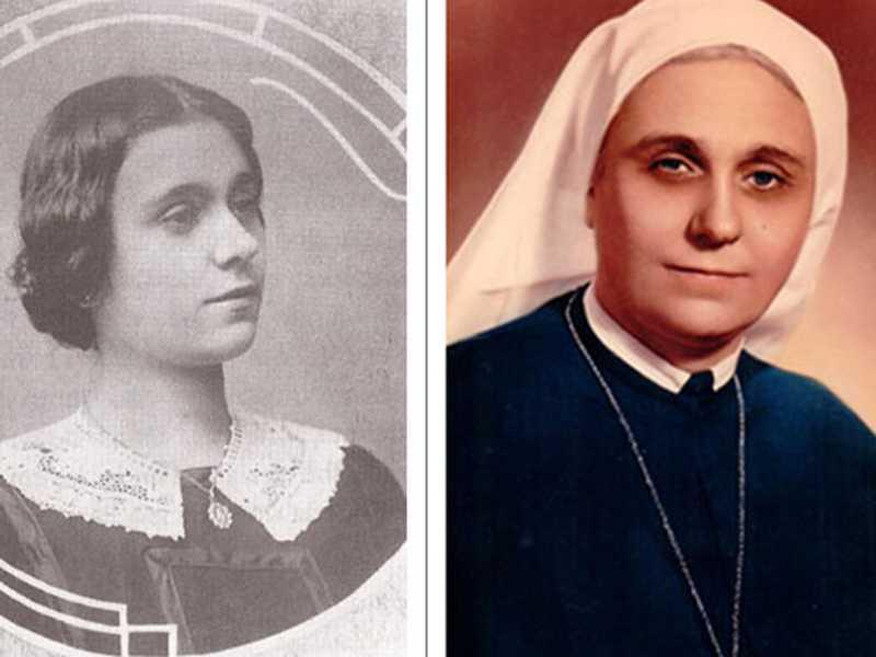 Madre Maria Villac, fundadora da congregação das Irmãs Missionárias de Jesus Crucificado - Fonte http://www.mjc.org.br
