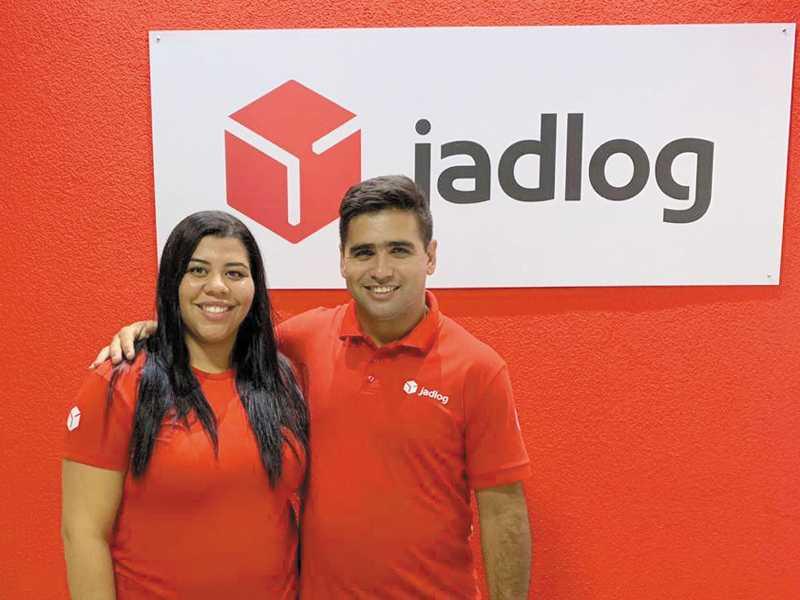 Agnaldo Francisco de Carvalho e sua esposa Tamires Carvalho